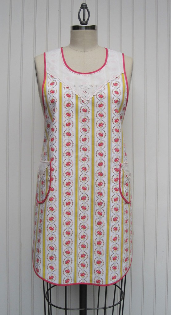 1920s-Ticking-Apron-front