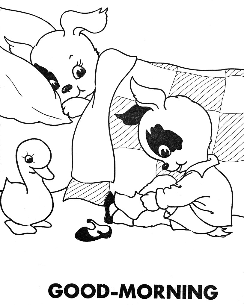 Free Coloring Pages Of Mary Had A Little Lamb