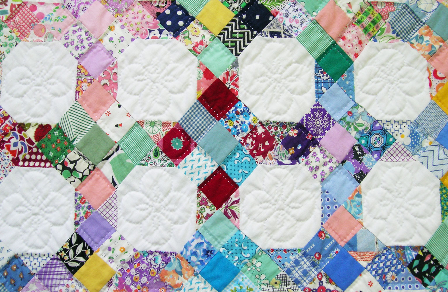 Quilt Patterns Snowball Block : 9-Patch and Snowball Quilt Q is for Quilter