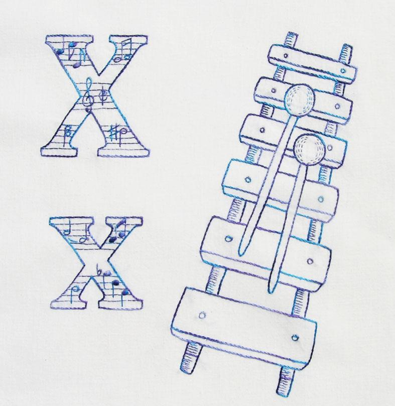 ABC-xylophone