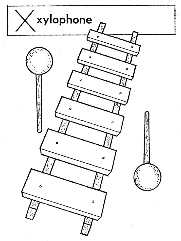 xylophone-web Xylophone Outline
