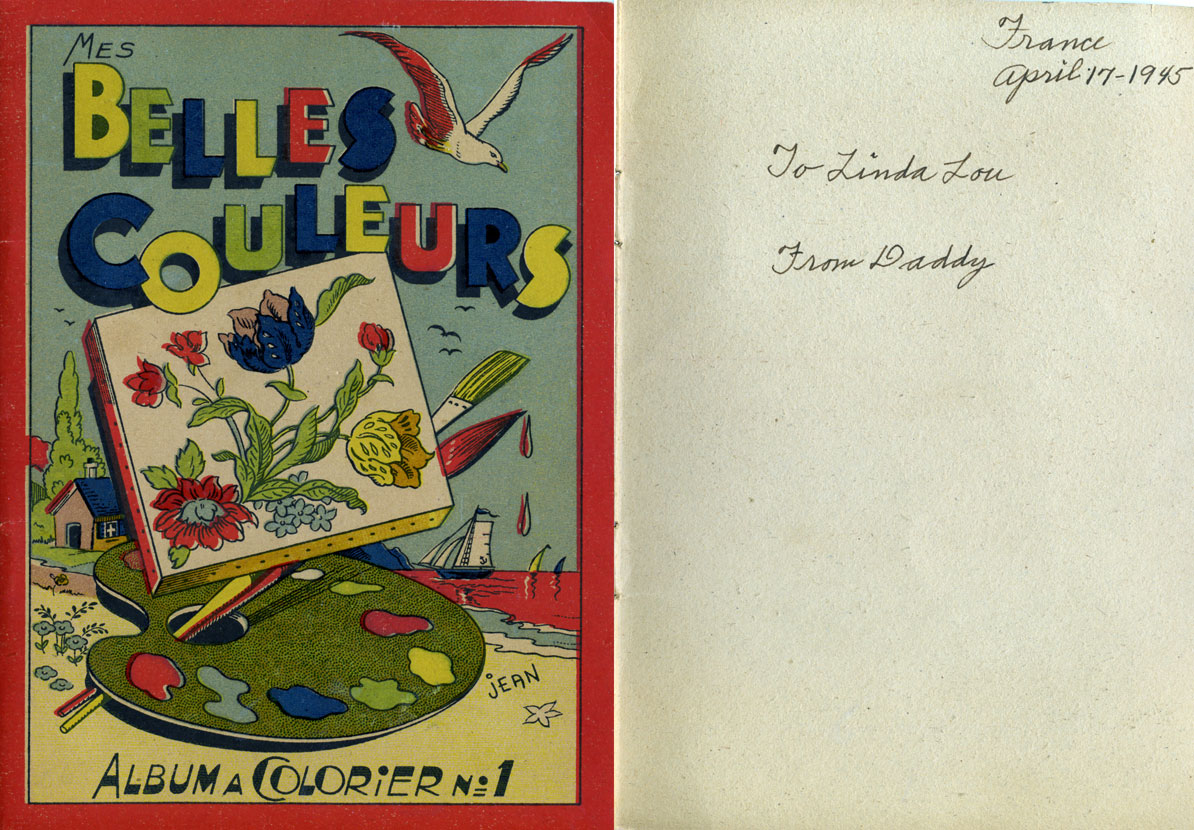 1945 french coloring book u2013 q is for quilter