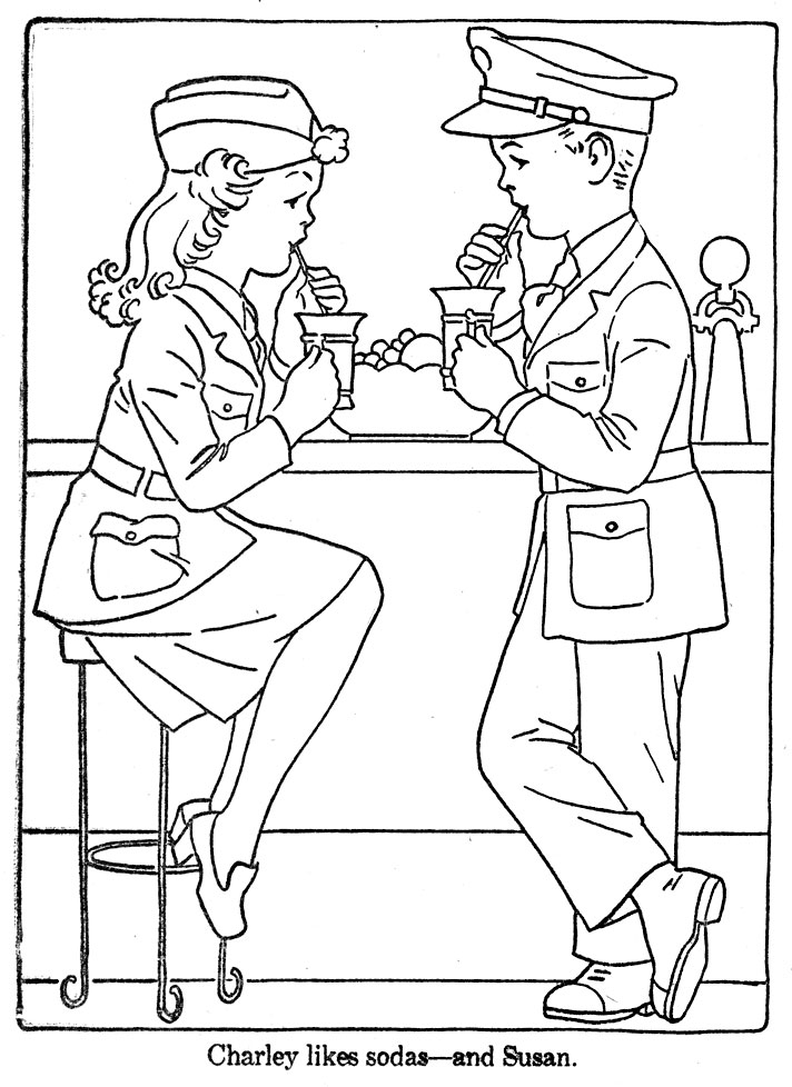 soda coloring pages - photo#34
