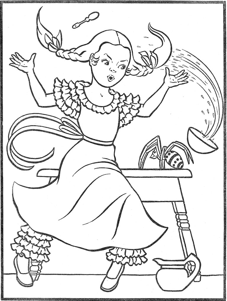 little miss sunshine coloring pages - photo#29