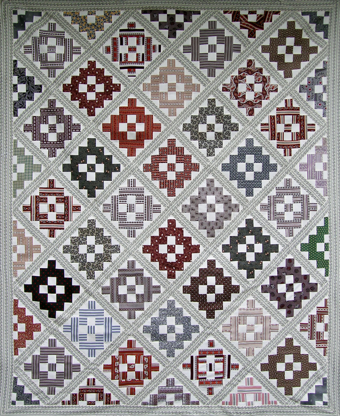 Antique Album Quilt Top — Remade – Q is for Quilter
