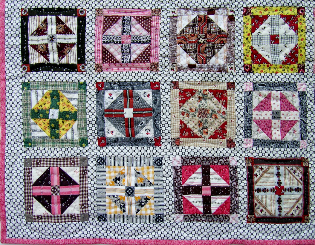 Cross Variation Doll Quilt Q Is For Quilter