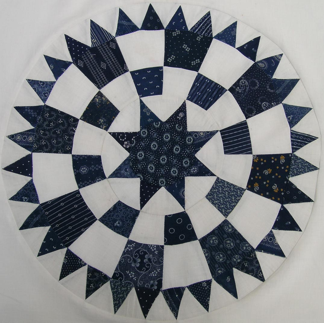 Ladies Art Quilt Company Pattern 99 Georgetown Circle Q Is For