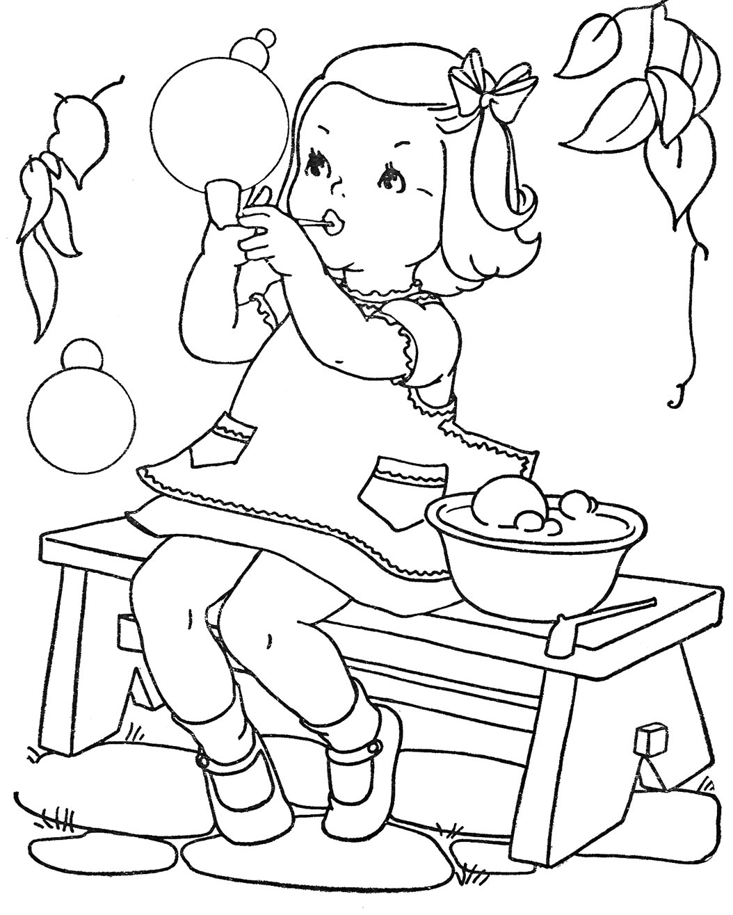 cassic art coloring pages - photo#47