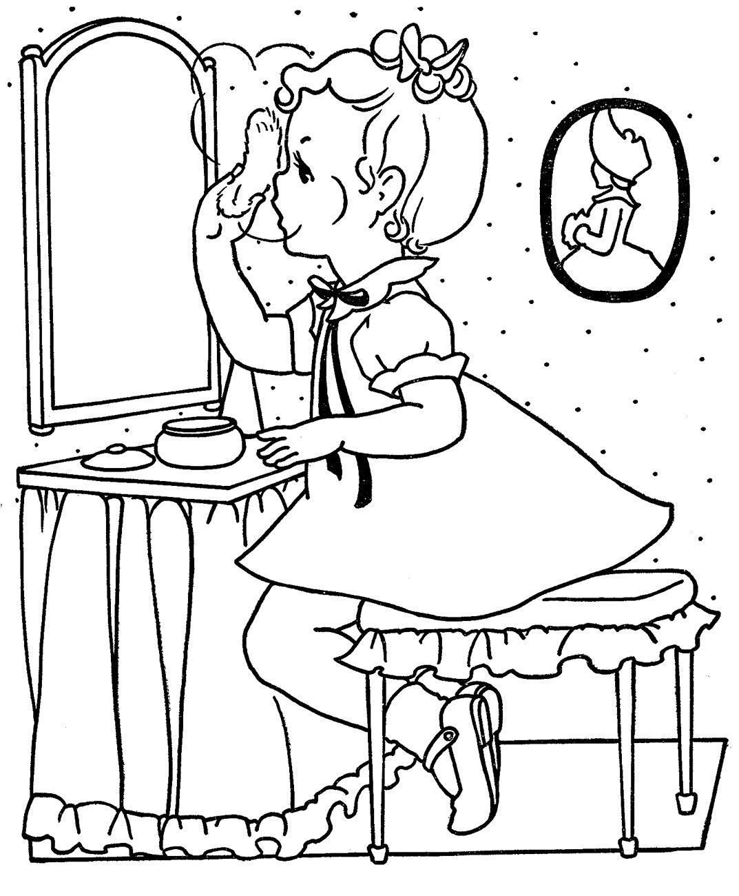 girls favorite coloring pages - photo#23