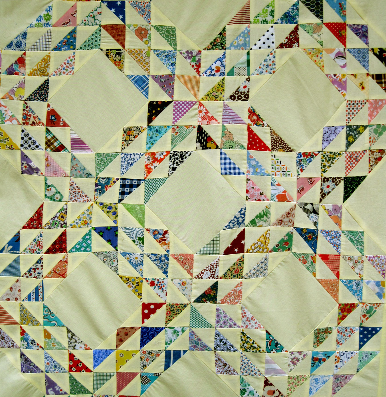 Ocean Waves Quilt Top Q Is For Quilter