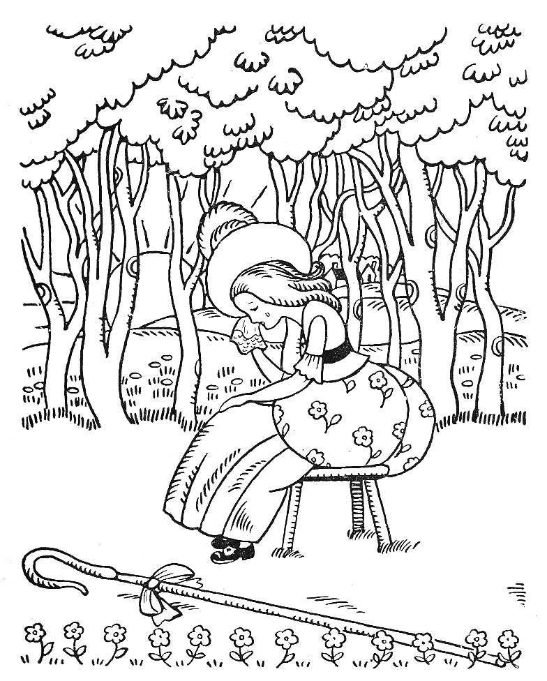 little bo peep coloring page - q is for quilter blog archive little bo peep