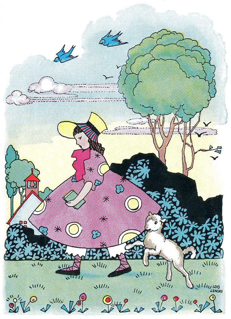 Jolly Rhymes Of Mother Goose Platt Munk 1922 Lois Lenski Illustrator