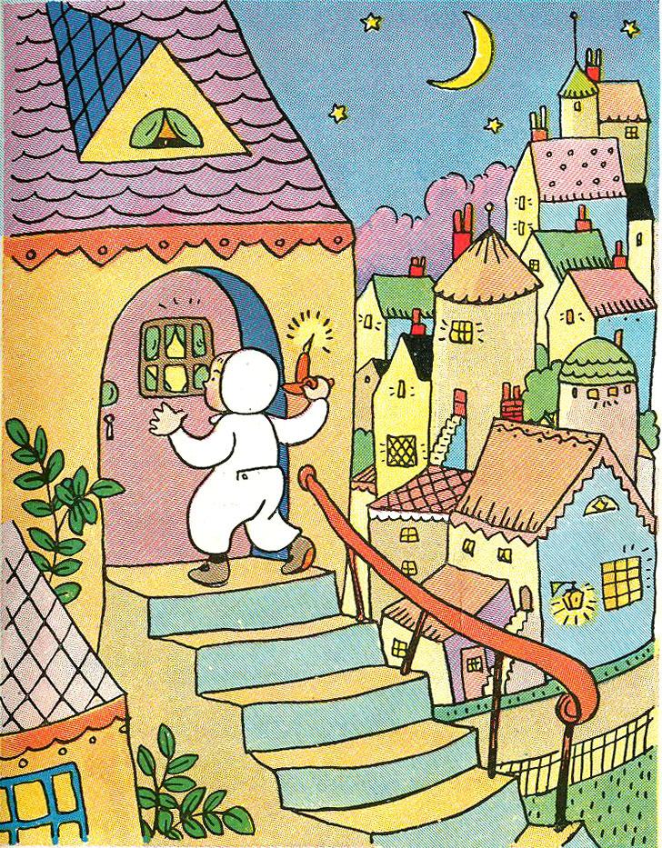 Wee Willie Winkie Coloring Page Wee-willie-winkie