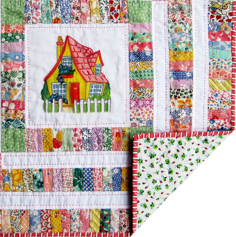 Cottage Doll Quilt Finished Q Is For Quilter