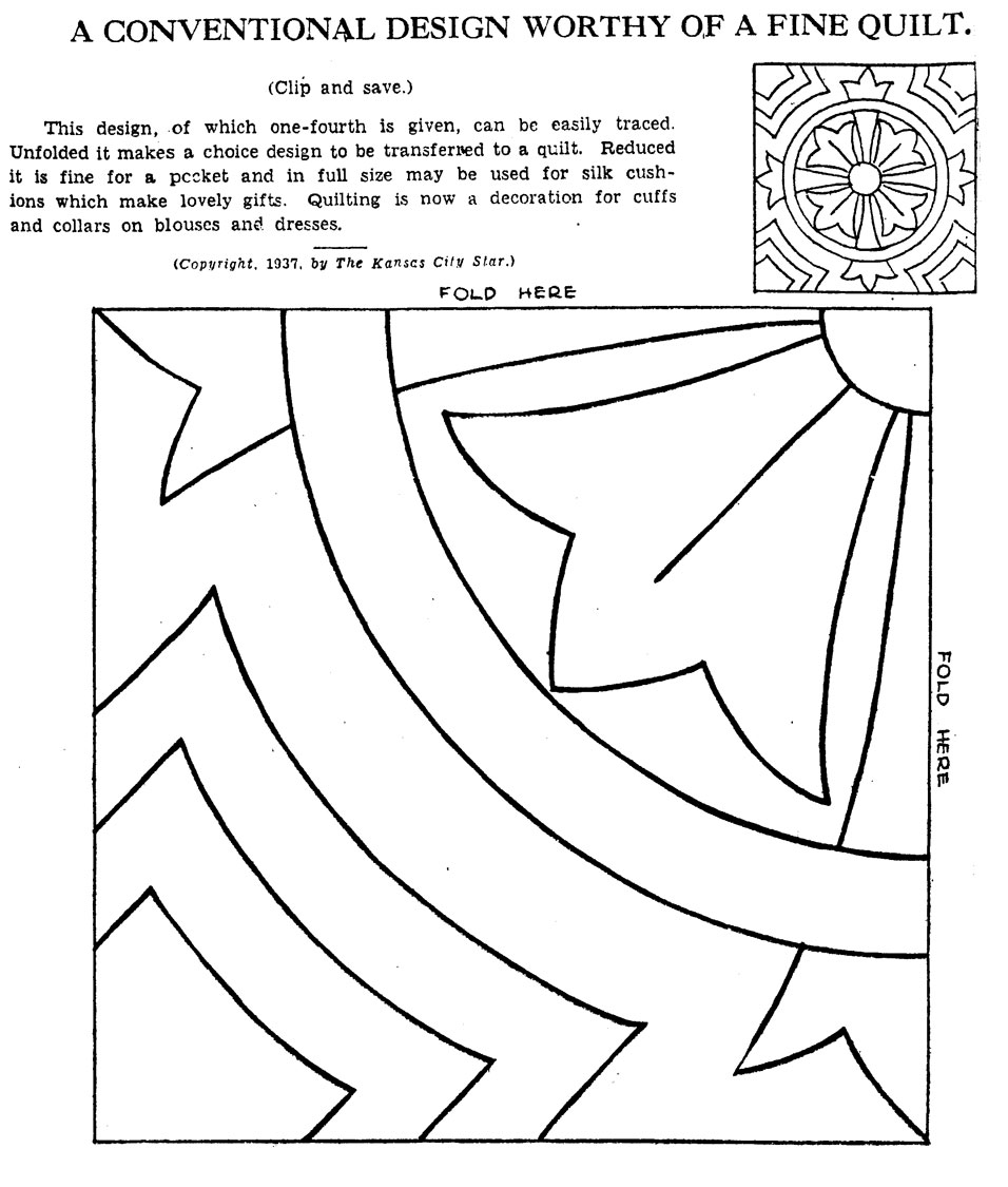is for Quilter  Blog Archive  Vintage Hand Quilting Patterns Quilt Patterns For Kids To Color
