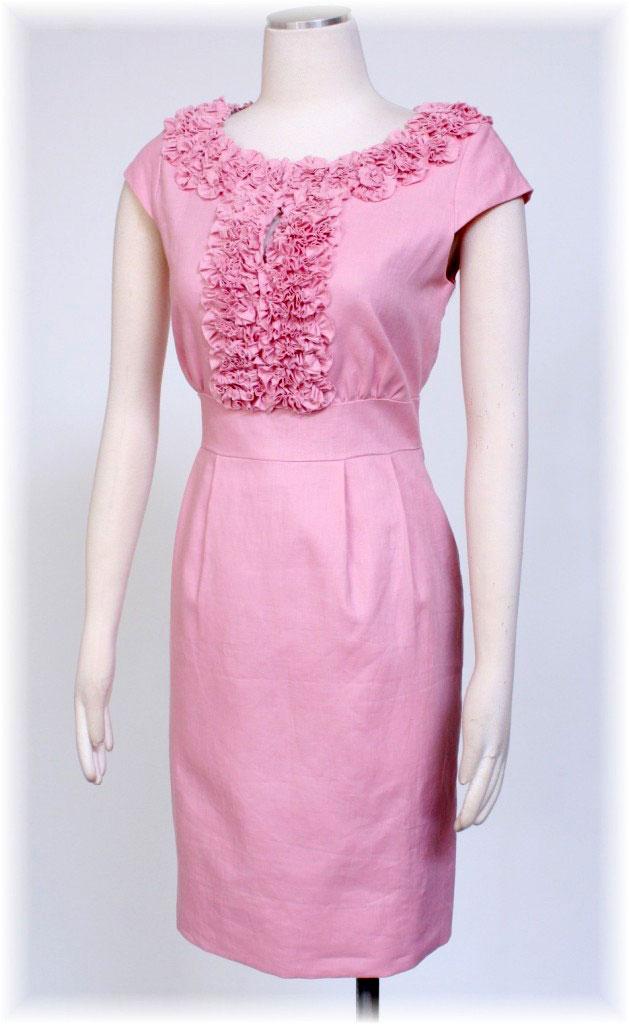 pink-linen-dress