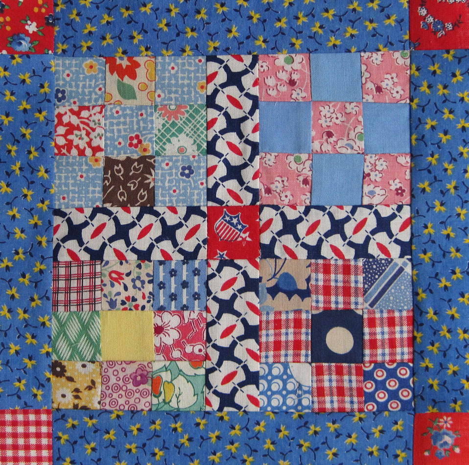 Vintage 9-Patch Quilt Top — Redo – Q is for Quilter : the quilting patch - Adamdwight.com