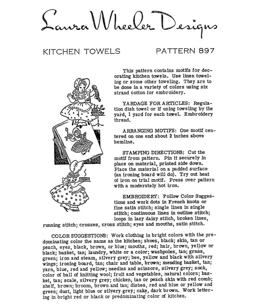 Wheeler-Sunbonnet-Directions