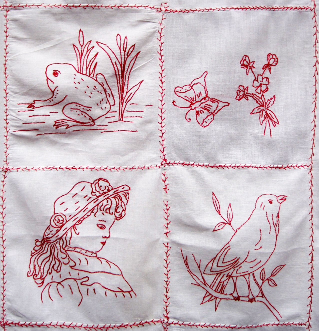 Embroidery Redwork Designs On Pinterest | Primitive Stitchery Embroidery Patterns And ...
