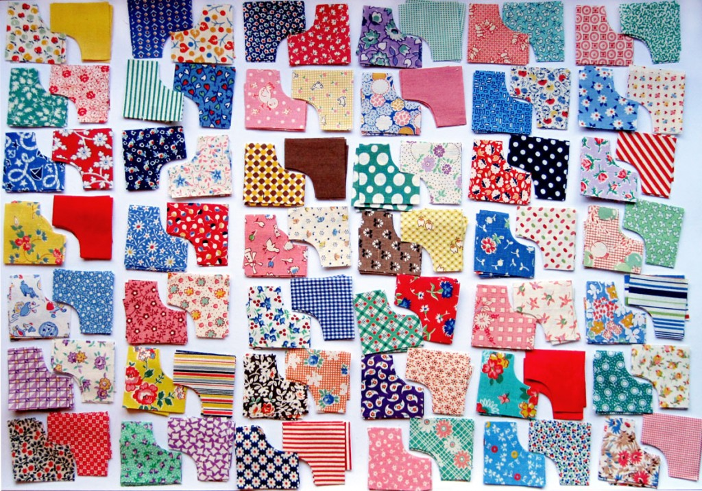 Vintage Doll Quilt Kit Rob Peter To Pay Paul Q Is For