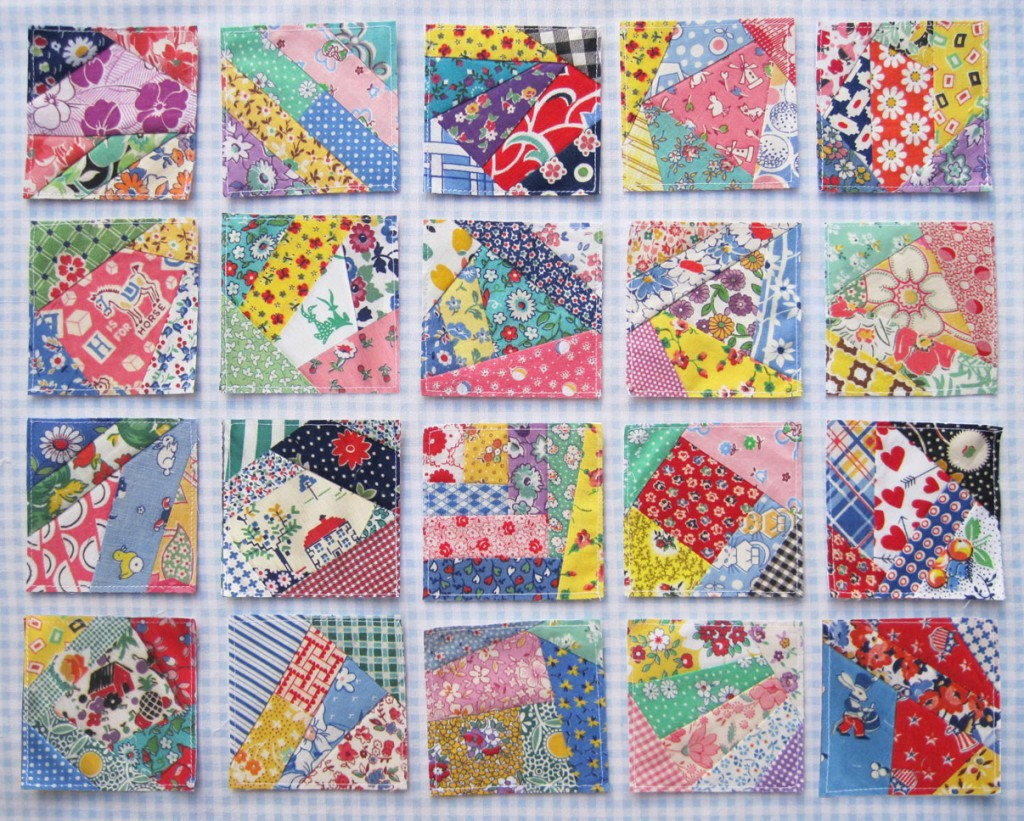 Crazy Quilt Pattern Fabric : Crazy Doll Quilt Blocks Q is for Quilter