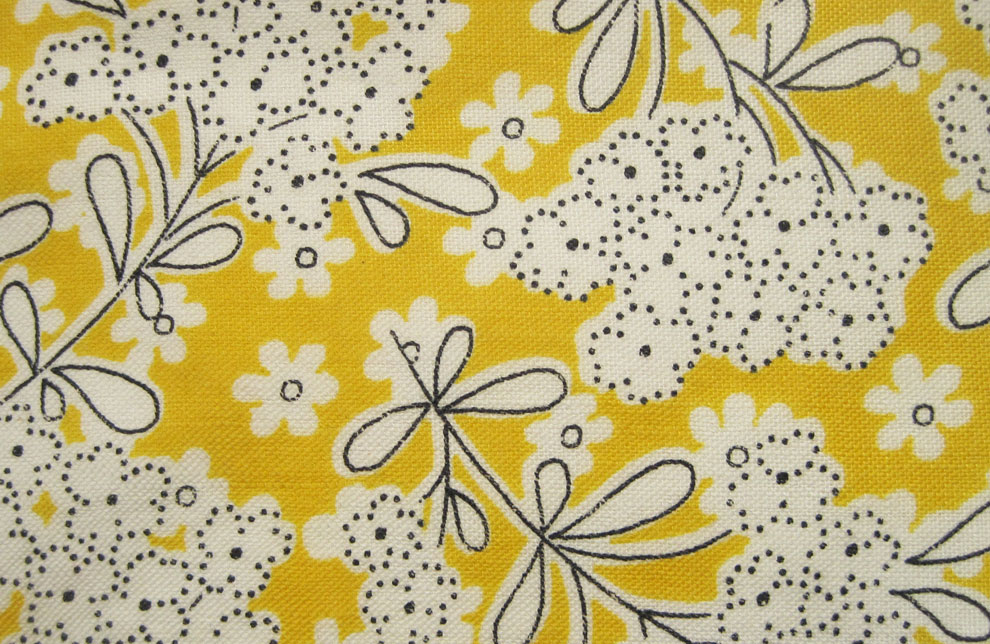 Vintage fabric gallery 1930s yellows q is for quilter for Vintage fabric