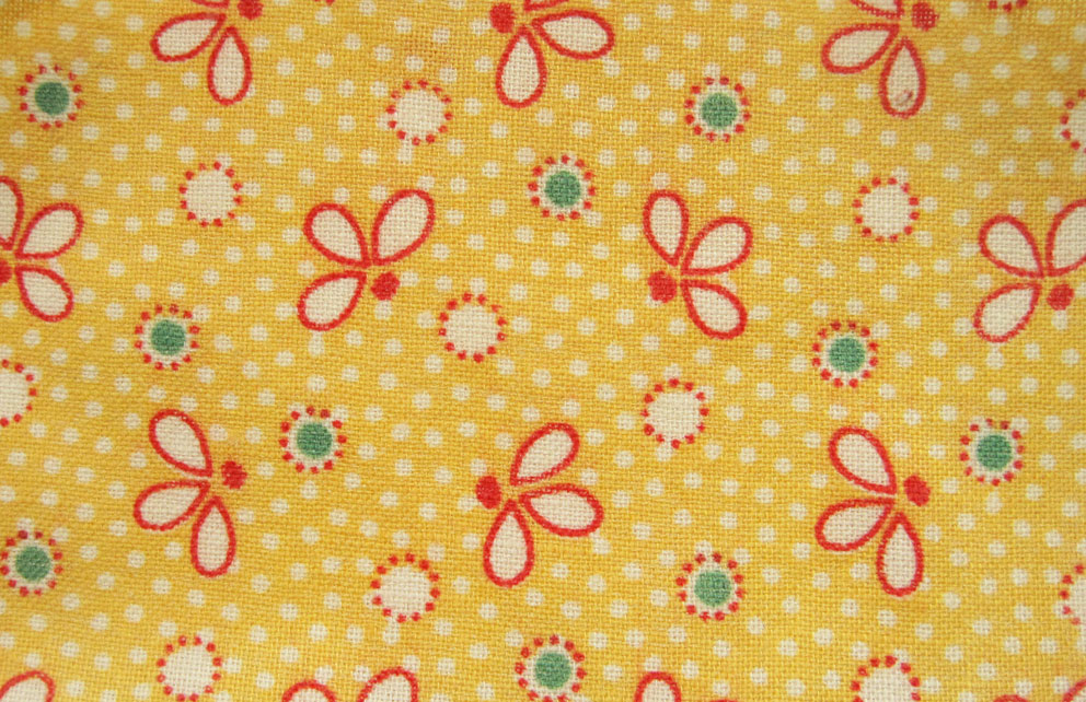 Vintage Fabric Gallery 1930s Yellows