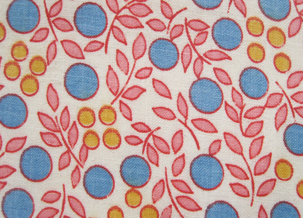 Vintage fabric patterns the image kid for Retro fabric