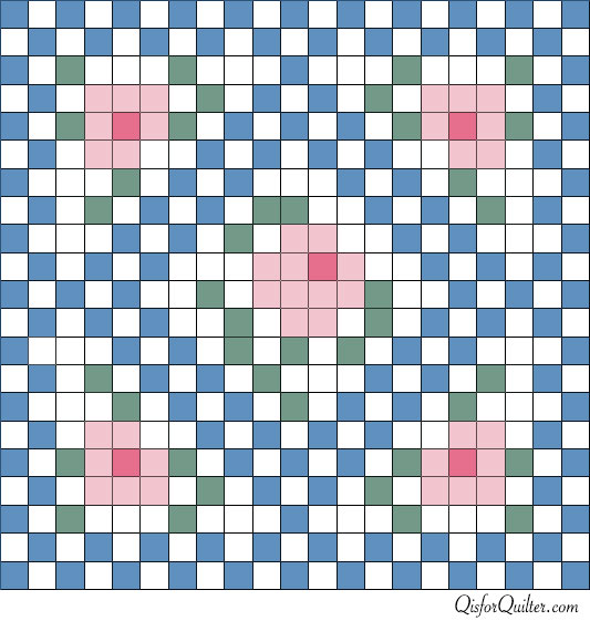 http://qisforquilter.com/wp-content/uploads/2012/07/Anne-Orr-style-mosaic-rose-doll-quilt-pattern1.jpg
