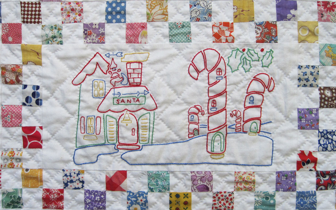 Embroidered-Christmas-Quilt-11