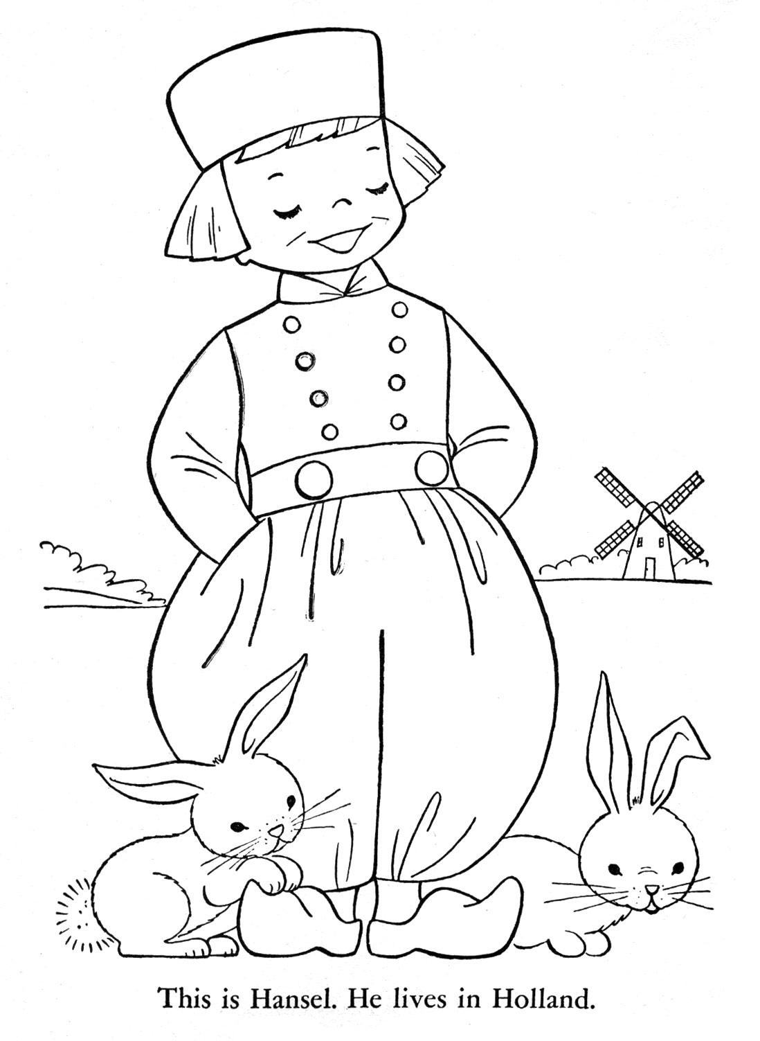 holland coloring pages - photo#20