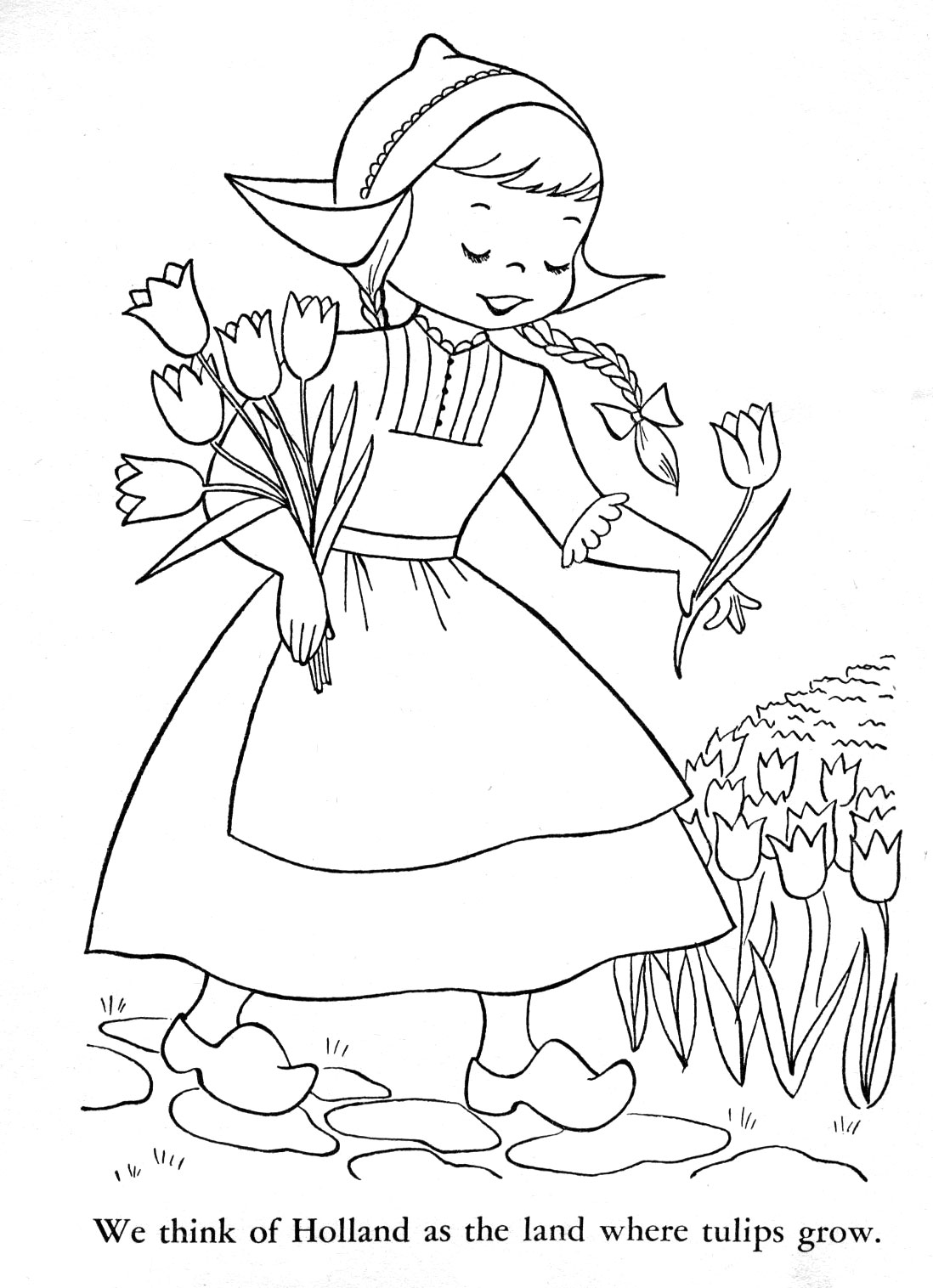holland coloring pages - photo#4