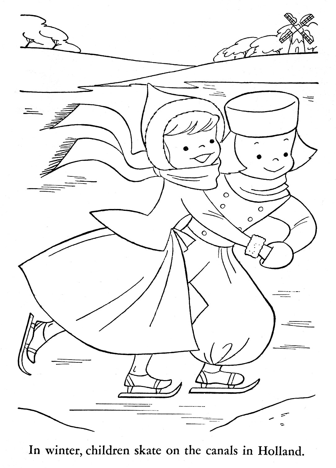 holland coloring pages - photo#16