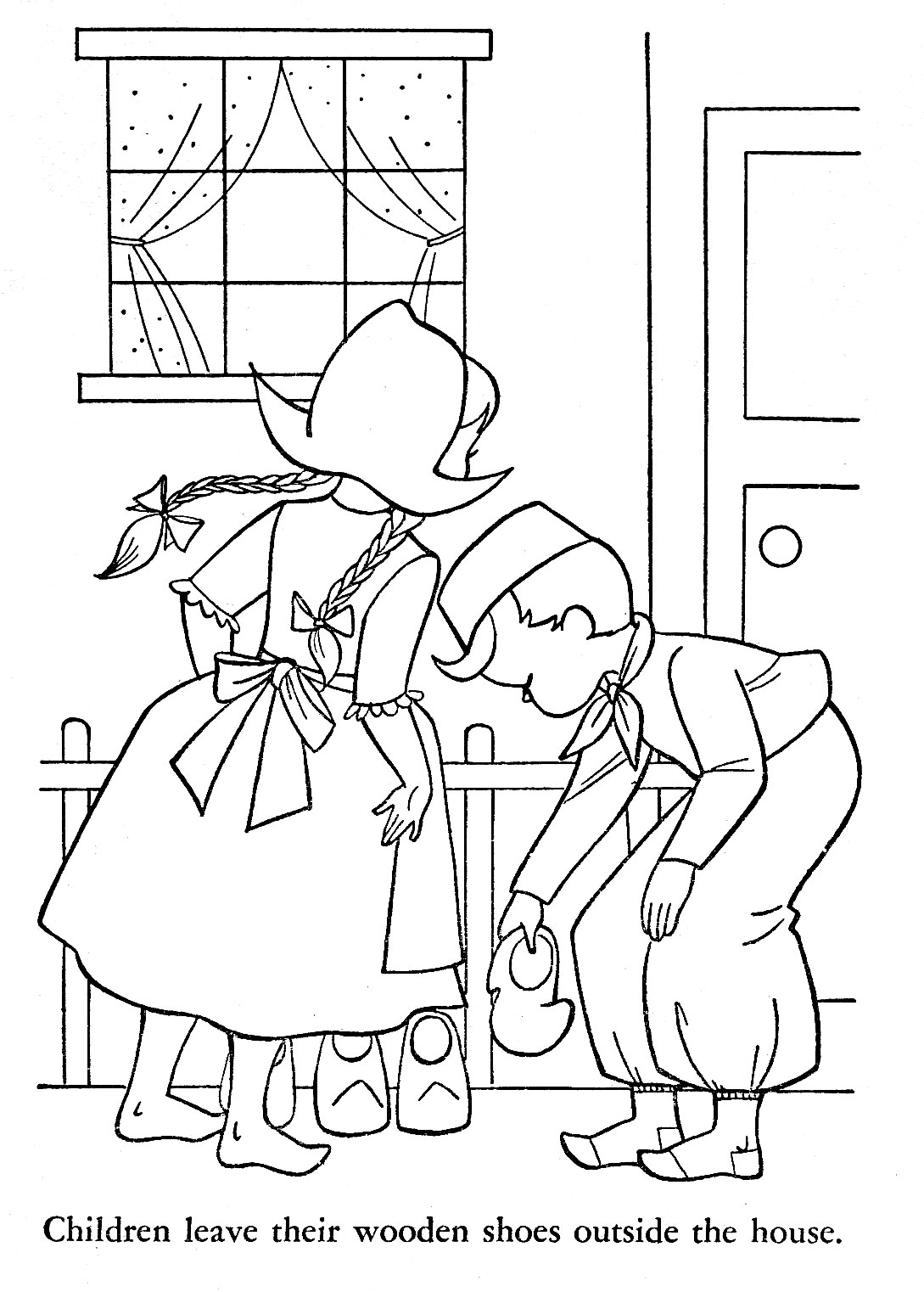 holland coloring pages - photo#10