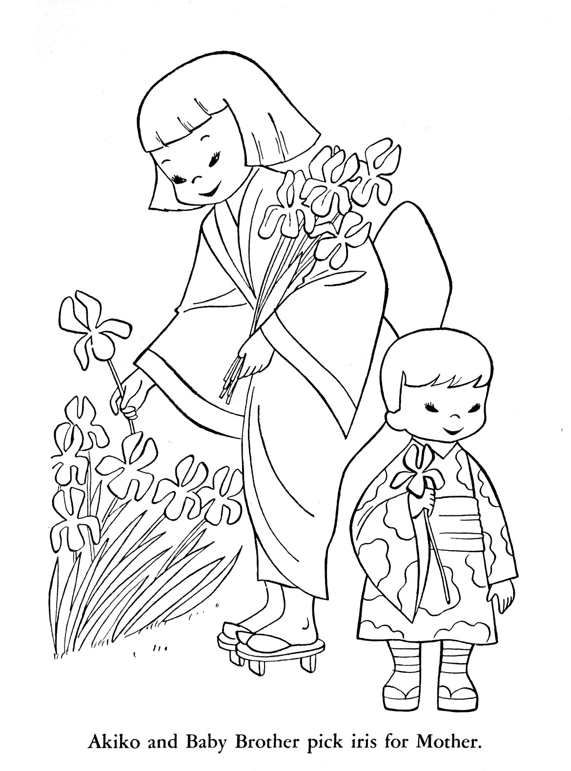 Korean Coloring Pages Coloring Pages