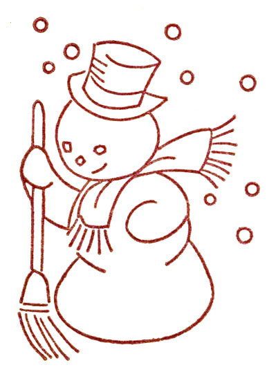 Vintage christmas embroidery transfers q is for quilter