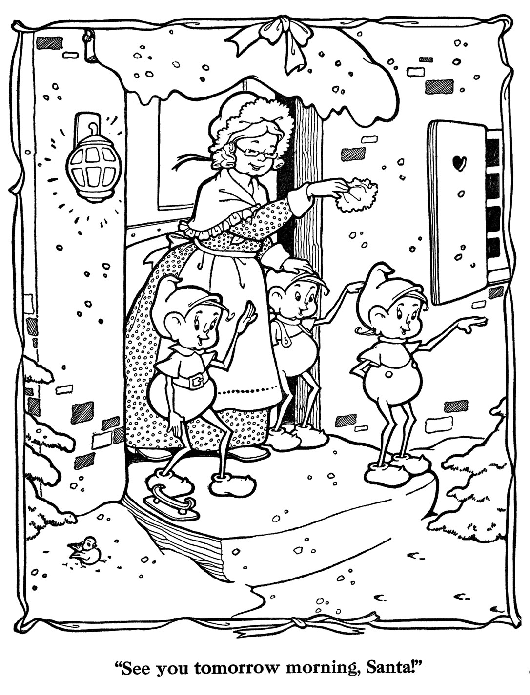 countdown to christmas coloring pages | coloring 2 christmas on Pinterest | Countdown To Christmas ...