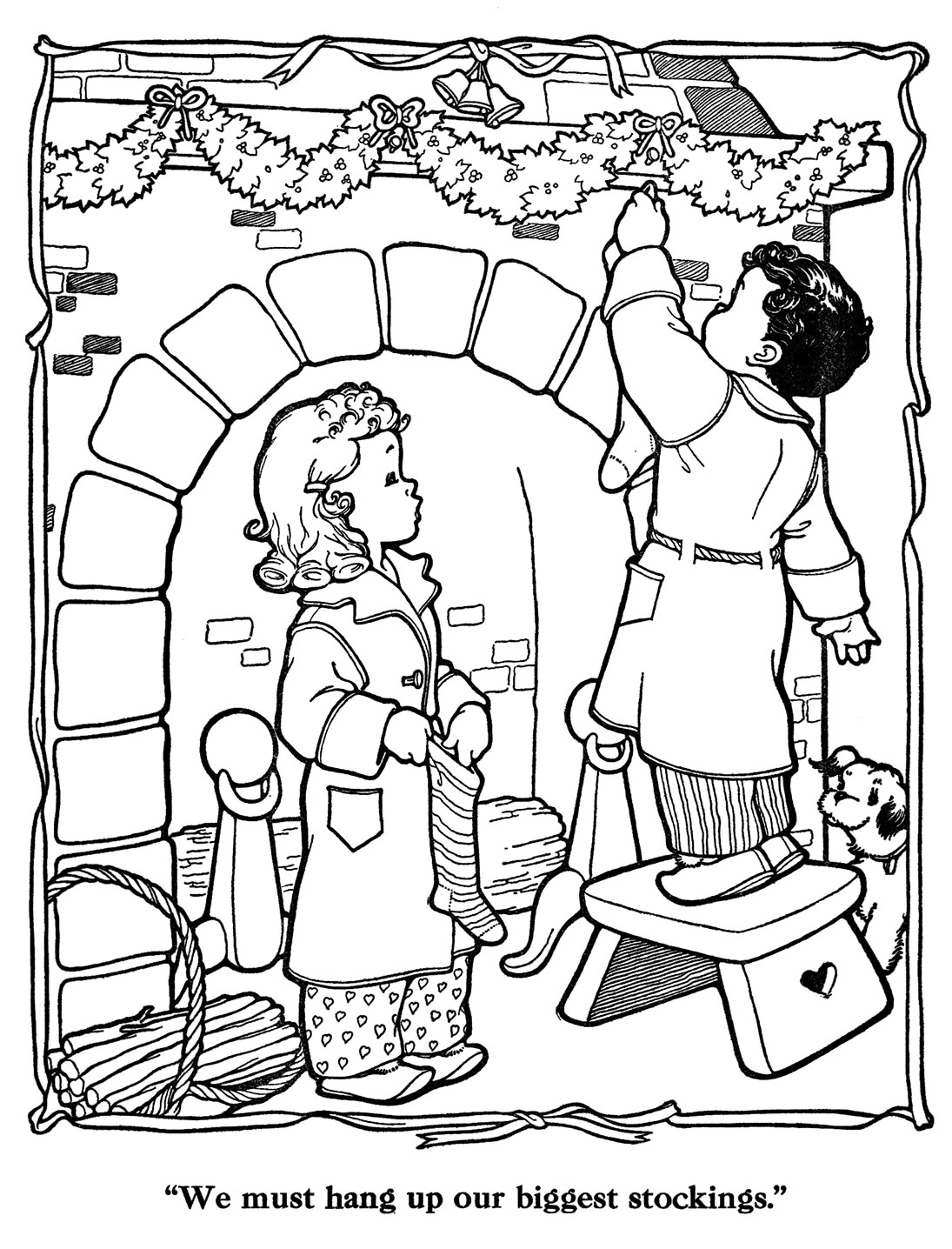 countdown to christmas coloring pages | Countdown to Christmas – 2 Days – Q is for Quilter