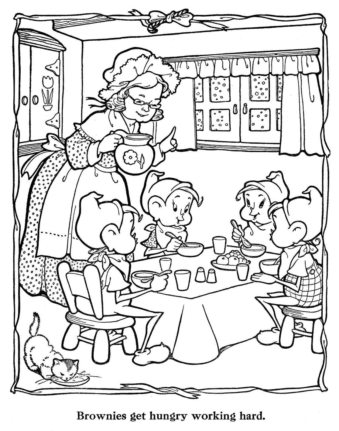 countdown to christmas coloring pages | Countdown to Christmas – 8 Days – Q is for Quilter