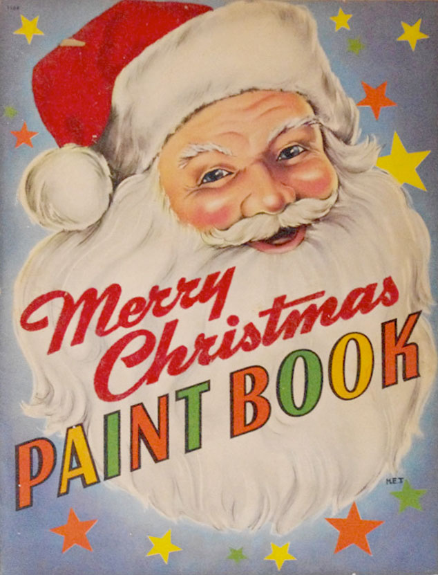 Merry-Christmas-Paint-Book-Cover