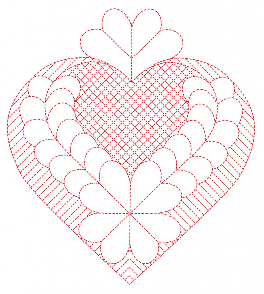 Heart Quilting Patterns Q is for Quilter