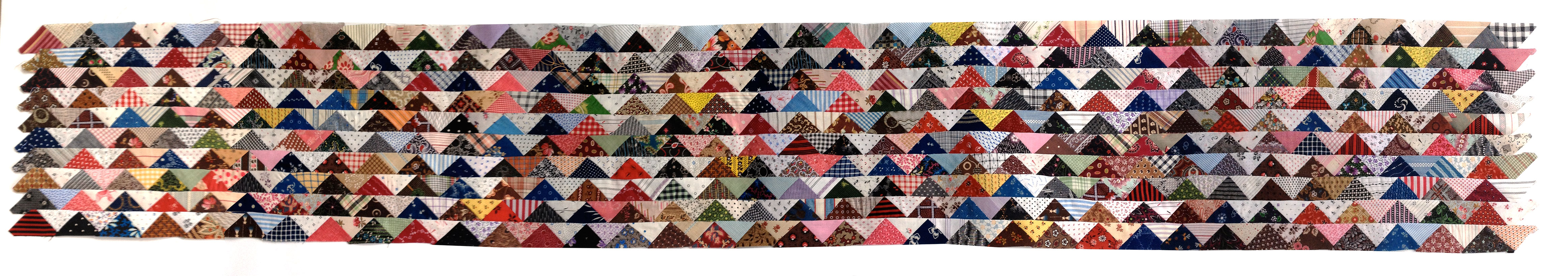 Triangle-Quilt-beginning-top