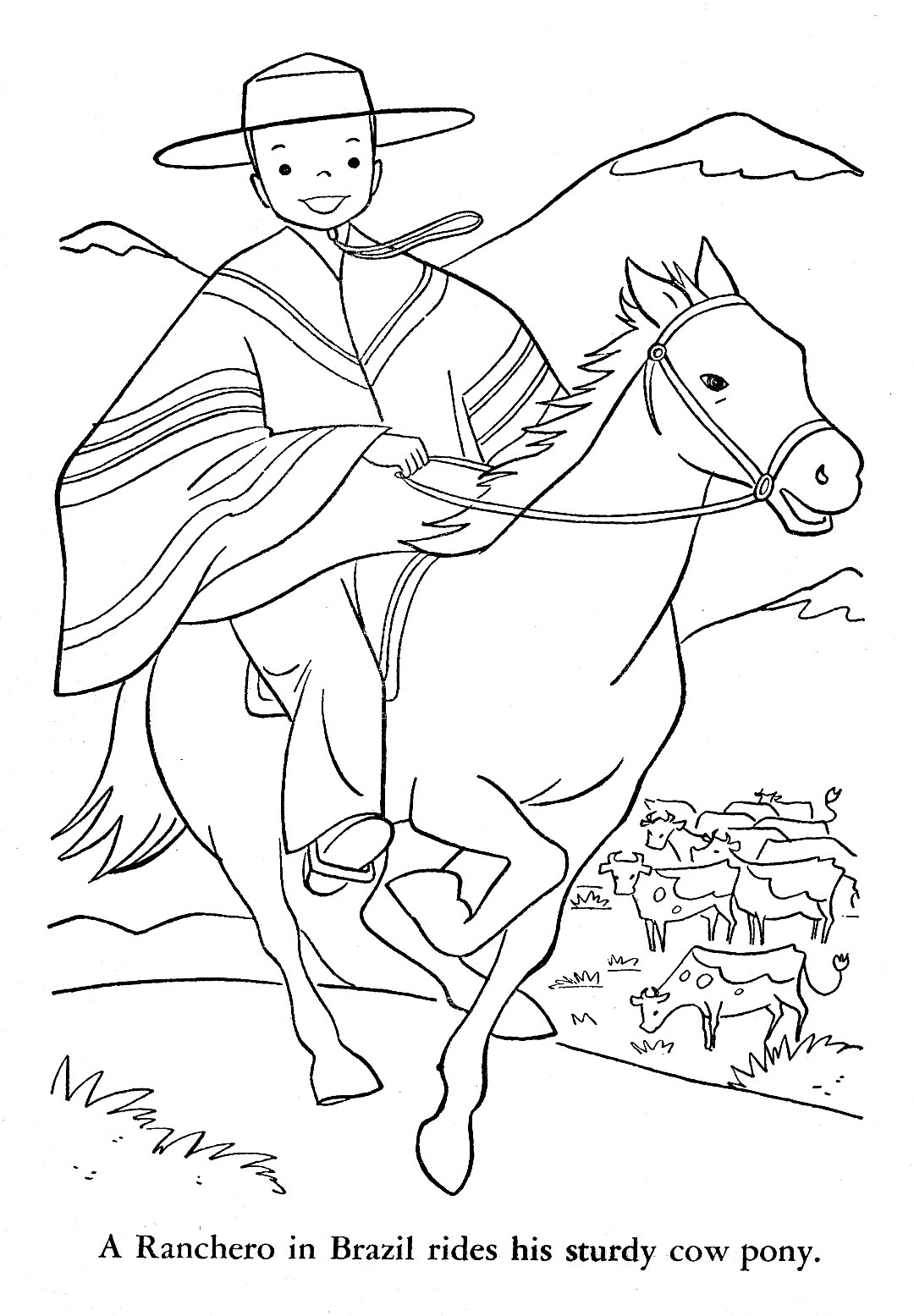Free Map Of Brazil Coloring Pages Argentina Coloring Pages