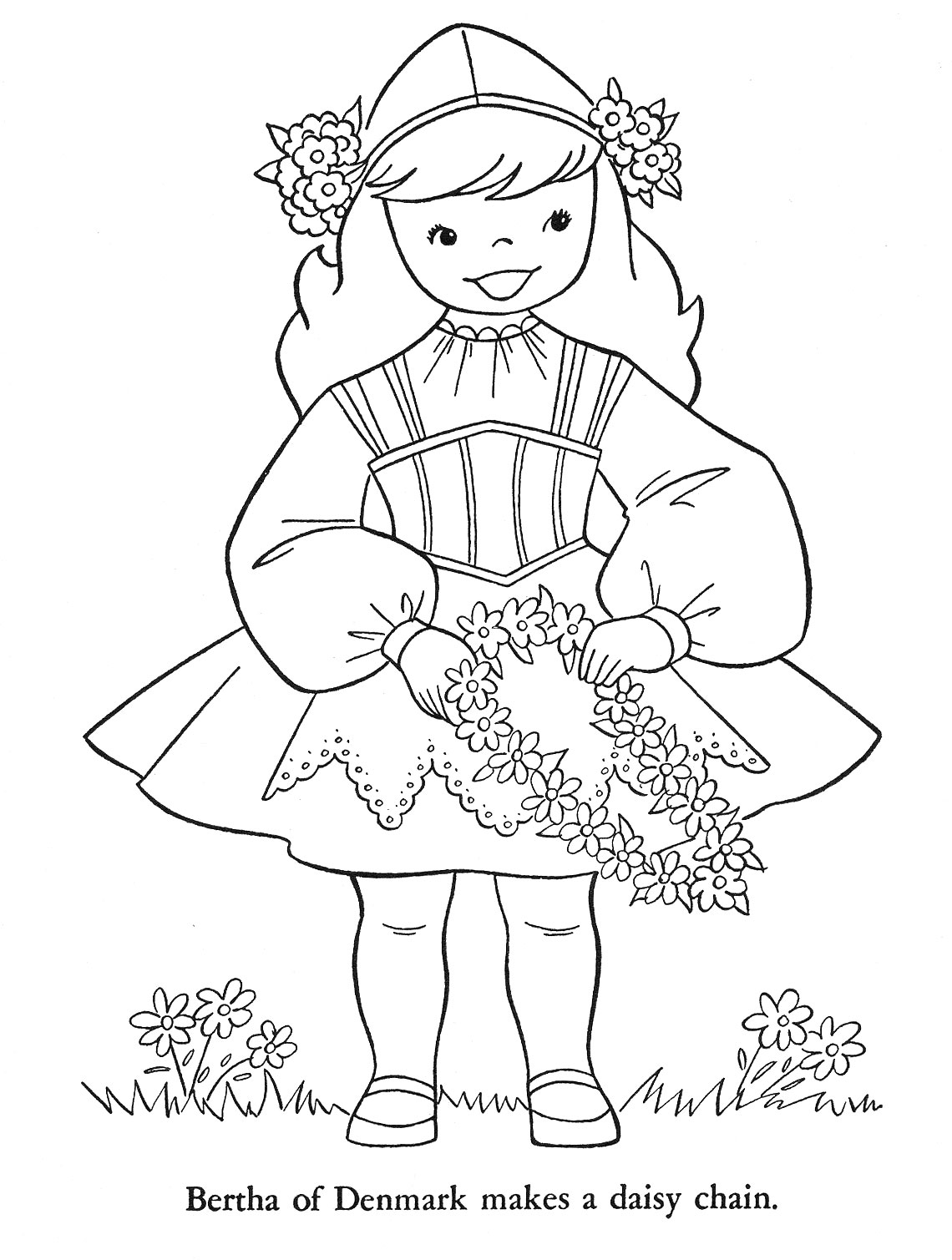denmark coloring pages - photo#9