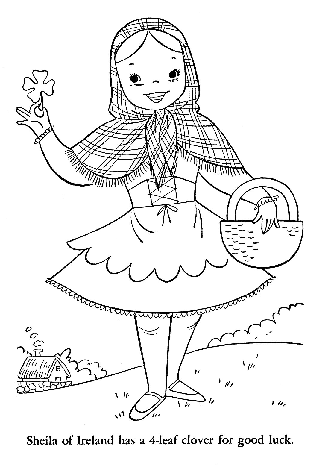 coloring pages with children - photo#11