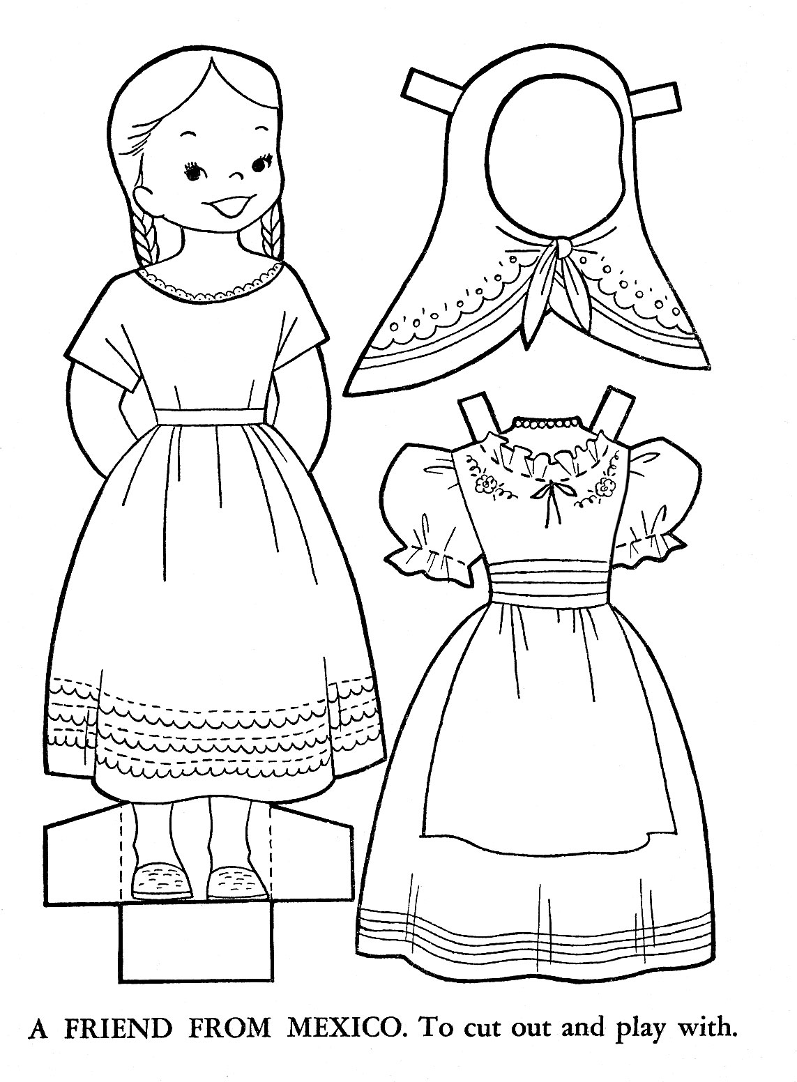 mexico and coloring pages - photo#25