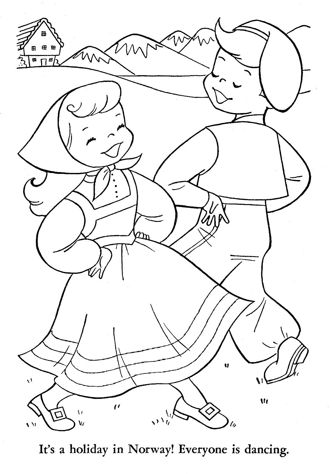 Norwegian Coloring Pages Coloring Pages