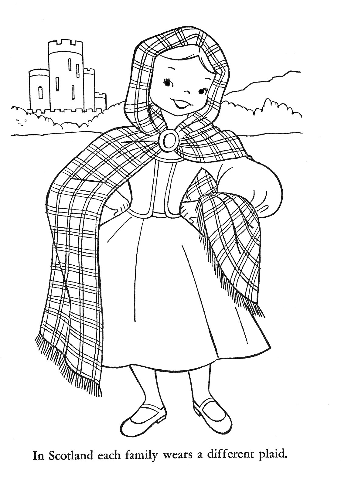 highland dance coloring pages - photo#15