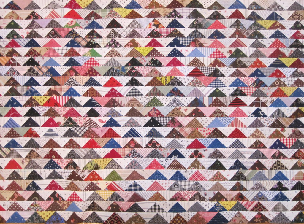 Triangle-Quilt-22-rows-detail