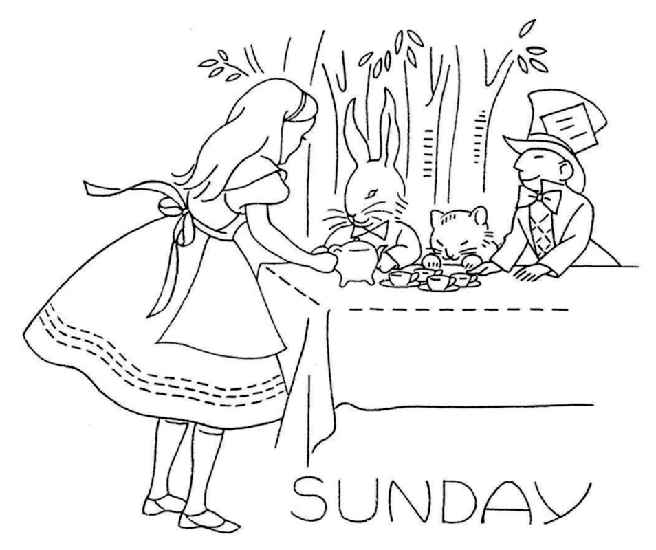 Alice-in-Wonderland-DOW-Sunday